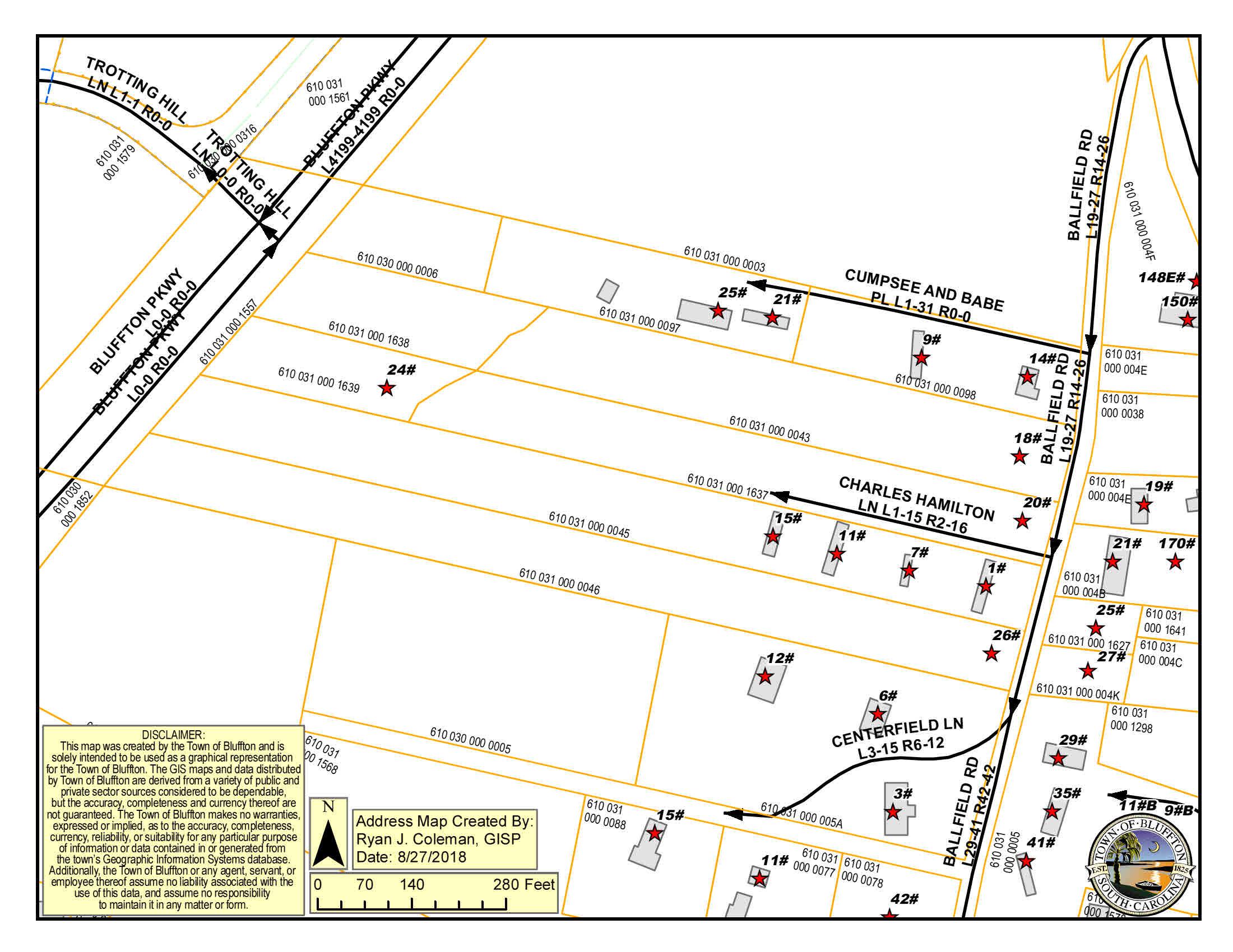 26 Ballfield Road,Bluffton,South Carolina 29910,Land,Ballfield Road,1046