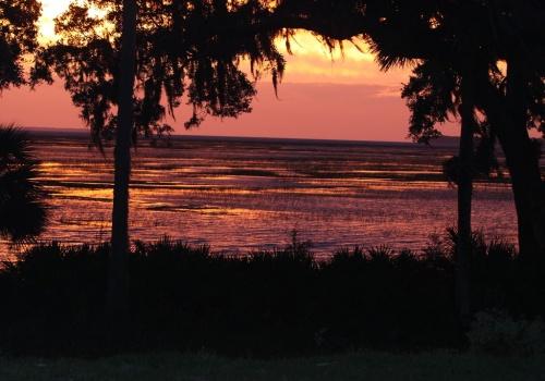 Sunset photo Bluffton